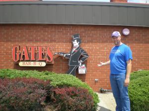 Chris at Gates BBQ