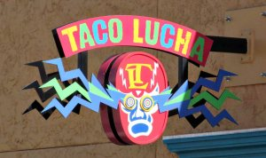 Pork wings at Taco Lucha in Manhattan, Kansas.