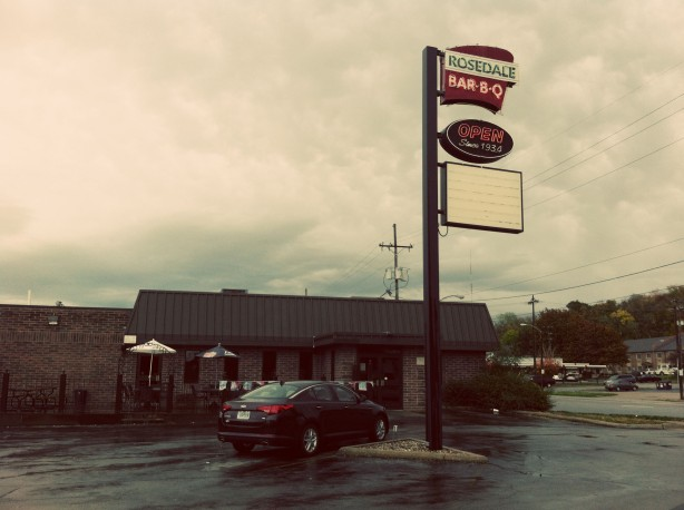 Picture of Rosedale BBQ in Kansas City.